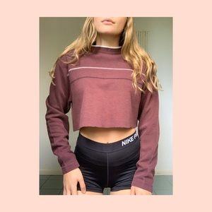🦚 vintage cropped long sleeve 🦚